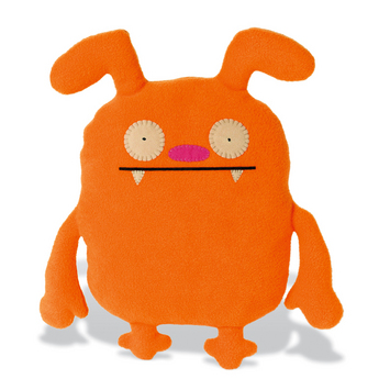 uglydoll 51465 suddy little ugly doll orange   51465